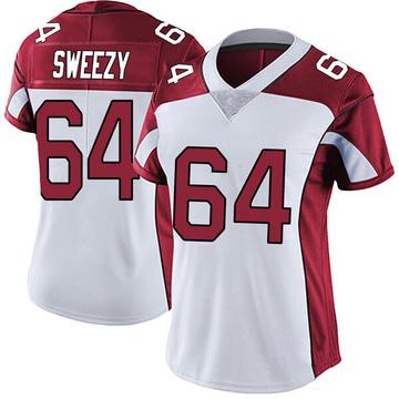 Women's Nike Arizona Cardinals J.R. Sweezy White Vapor Untouchable Jersey - Limited