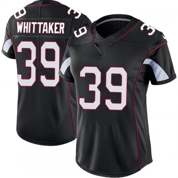 Women's Nike Arizona Cardinals Jace Whittaker Black Vapor Untouchable Jersey - Limited