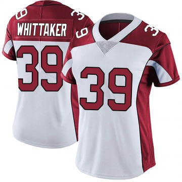 Women's Nike Arizona Cardinals Jace Whittaker White Vapor Untouchable Jersey - Limited
