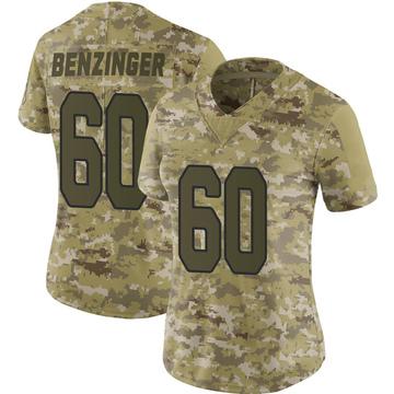 Women's Nike Arizona Cardinals Jake Benzinger Camo 2018 Salute to Service Jersey - Limited