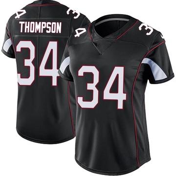 Women's Nike Arizona Cardinals Jalen Thompson Black Vapor Untouchable Jersey - Limited