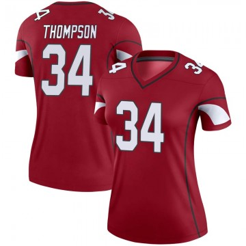 Women's Nike Arizona Cardinals Jalen Thompson Cardinal Jersey - Legend
