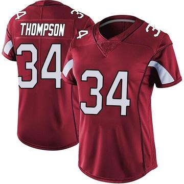 Women's Nike Arizona Cardinals Jalen Thompson Red Vapor Team Color Untouchable Jersey - Limited