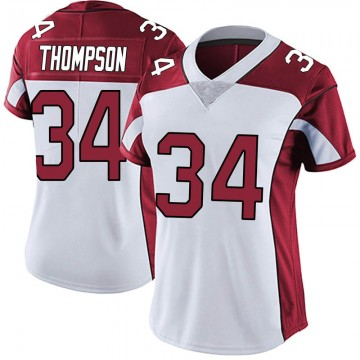 Women's Nike Arizona Cardinals Jalen Thompson White Vapor Untouchable Jersey - Limited