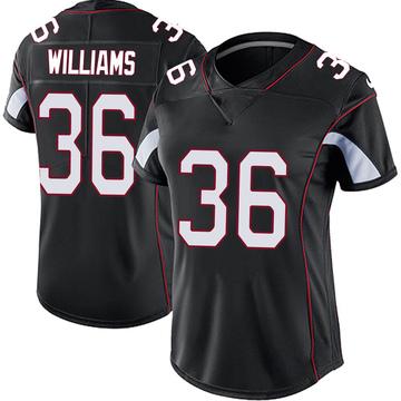 Women's Nike Arizona Cardinals Jarren Williams Black Vapor Untouchable Jersey - Limited