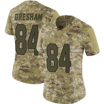 Women's Nike Arizona Cardinals Jermaine Gresham Camo 2018 Salute to Service Jersey - Limited
