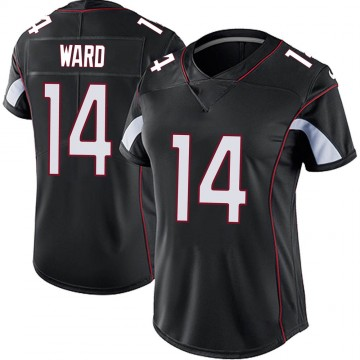 Women's Nike Arizona Cardinals JoJo Ward Black Vapor Untouchable Jersey - Limited