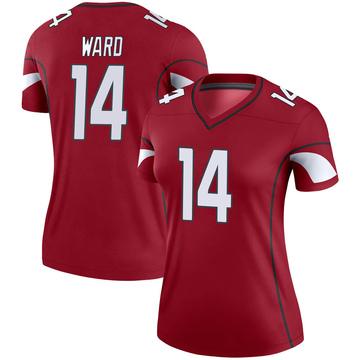 Women's Nike Arizona Cardinals JoJo Ward Cardinal Jersey - Legend