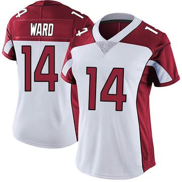 Women's Nike Arizona Cardinals JoJo Ward White Vapor Untouchable Jersey - Limited