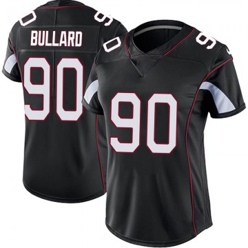 Women's Nike Arizona Cardinals Jonathan Bullard Black Vapor Untouchable Jersey - Limited