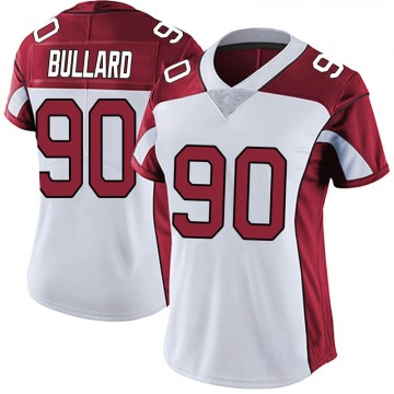 Women's Nike Arizona Cardinals Jonathan Bullard White Vapor Untouchable Jersey - Limited