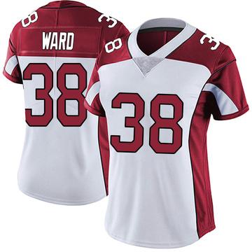 Women's Nike Arizona Cardinals Jonathan Ward White Vapor Untouchable Jersey - Limited
