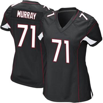 Women's Nike Arizona Cardinals Justin Murray Black Alternate Jersey - Game