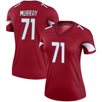Women's Nike Arizona Cardinals Justin Murray Cardinal Jersey - Legend