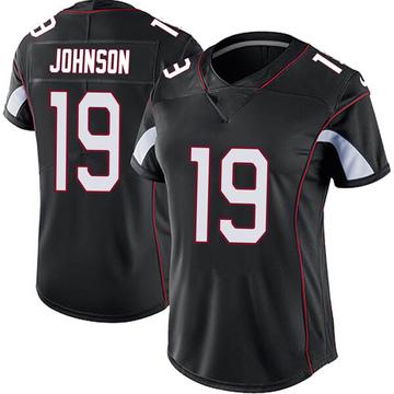 Women's Nike Arizona Cardinals KeeSean Johnson Black Vapor Untouchable Jersey - Limited