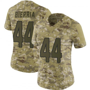 Women's Nike Arizona Cardinals Keishawn Bierria Camo 2018 Salute to Service Jersey - Limited