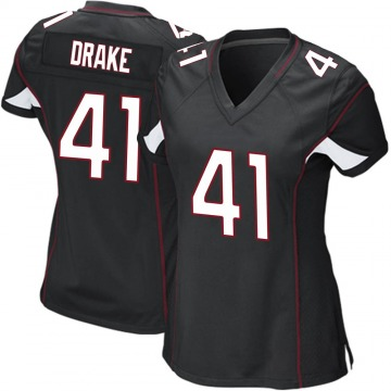 Women's Nike Arizona Cardinals Kenyan Drake Black Alternate Jersey - Game