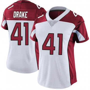 Women's Nike Arizona Cardinals Kenyan Drake White Vapor Untouchable Jersey - Limited