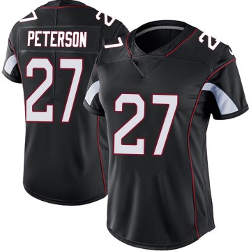 Women's Nike Arizona Cardinals Kevin Peterson Black Vapor Untouchable Jersey - Limited