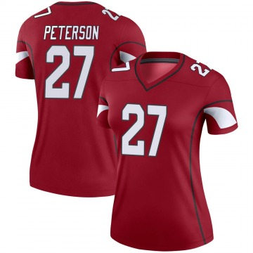 Women's Nike Arizona Cardinals Kevin Peterson Cardinal Jersey - Legend