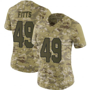 Women's Nike Arizona Cardinals Kylie Fitts Camo 2018 Salute to Service Jersey - Limited