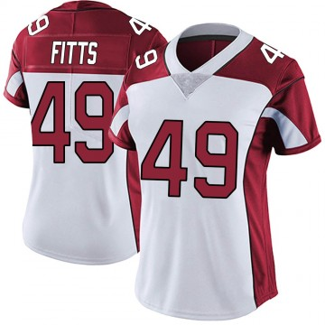 Women's Nike Arizona Cardinals Kylie Fitts White Vapor Untouchable Jersey - Limited