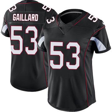 Women's Nike Arizona Cardinals Lamont Gaillard Black Vapor Untouchable Jersey - Limited