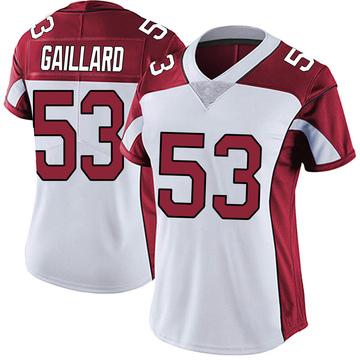 Women's Nike Arizona Cardinals Lamont Gaillard White Vapor Untouchable Jersey - Limited