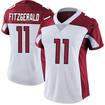 Women's Nike Arizona Cardinals Larry Fitzgerald White Vapor Untouchable Jersey - Limited