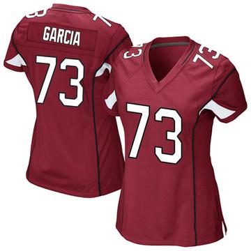 Women's Nike Arizona Cardinals Max Garcia Cardinal Team Color Jersey - Game
