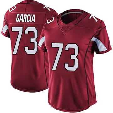 Women's Nike Arizona Cardinals Max Garcia Red Vapor Team Color Untouchable Jersey - Limited