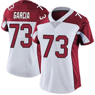Women's Nike Arizona Cardinals Max Garcia White Vapor Untouchable Jersey - Limited