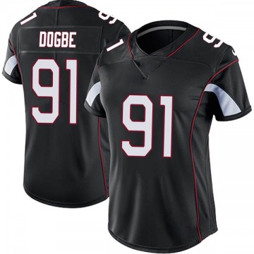 Women's Nike Arizona Cardinals Michael Dogbe Black Vapor Untouchable Jersey - Limited