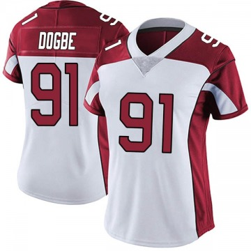 Women's Nike Arizona Cardinals Michael Dogbe White Vapor Untouchable Jersey - Limited