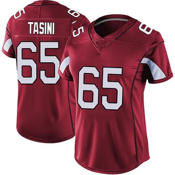 Women's Nike Arizona Cardinals Pasoni Tasini Red Vapor Team Color Untouchable Jersey - Limited