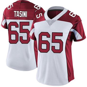 Women's Nike Arizona Cardinals Pasoni Tasini White Vapor Untouchable Jersey - Limited