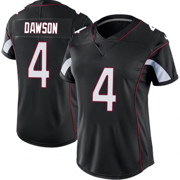 Women's Nike Arizona Cardinals Phil Dawson Black Vapor Untouchable Jersey - Limited