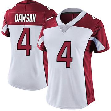 Women's Nike Arizona Cardinals Phil Dawson White Vapor Untouchable Jersey - Limited