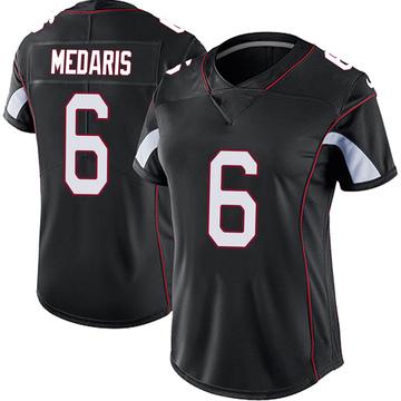 Women's Nike Arizona Cardinals Rashad Medaris Black Vapor Untouchable Jersey - Limited