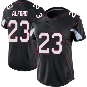 Women's Nike Arizona Cardinals Robert Alford Black Vapor Untouchable Jersey - Limited