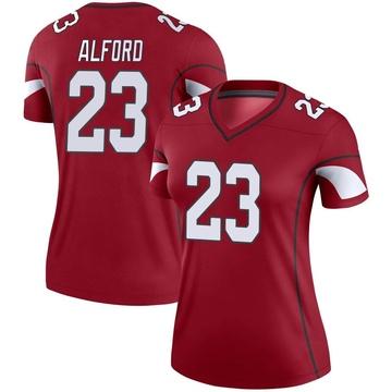 Women's Nike Arizona Cardinals Robert Alford Cardinal Jersey - Legend