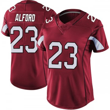 Women's Nike Arizona Cardinals Robert Alford Red Vapor Team Color Untouchable Jersey - Limited