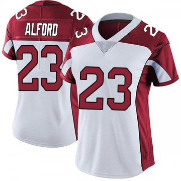 Women's Nike Arizona Cardinals Robert Alford White Vapor Untouchable Jersey - Limited