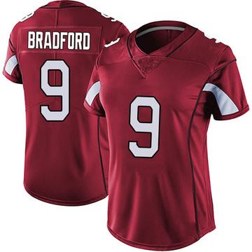 Women's Nike Arizona Cardinals Sam Bradford Red Vapor Team Color Untouchable Jersey - Limited
