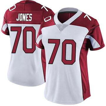 Women's Nike Arizona Cardinals Sam Jones White Vapor Untouchable Jersey - Limited
