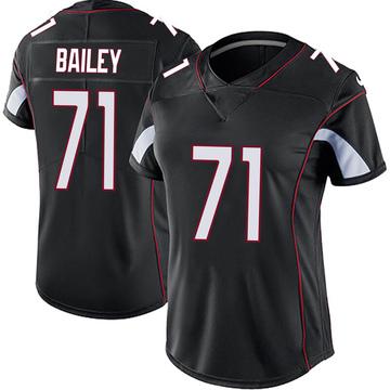 Women's Nike Arizona Cardinals Sterling Bailey Black Vapor Untouchable Jersey - Limited