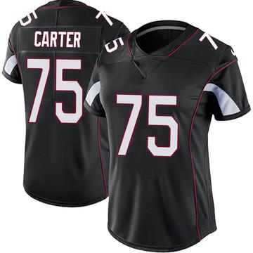Women's Nike Arizona Cardinals T.J. Carter Black Vapor Untouchable Jersey - Limited
