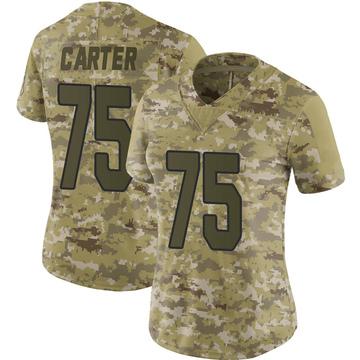 Women's Nike Arizona Cardinals T.J. Carter Camo 2018 Salute to Service Jersey - Limited