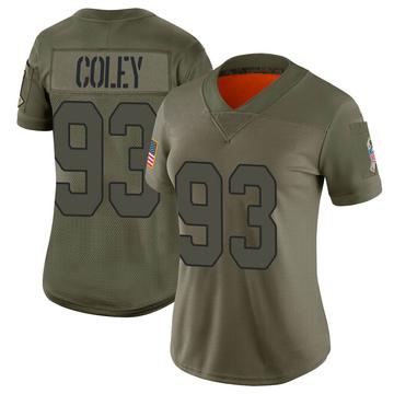Women's Nike Arizona Cardinals Trevon Coley Camo 2019 Salute to Service Jersey - Limited