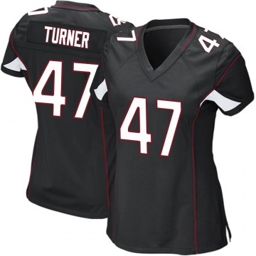 Women's Nike Arizona Cardinals Zeke Turner Black Alternate Jersey - Game